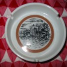 Ashtray With Vintage Style Train / Locomotive Nice Piece