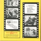 The Film Buff's Checklist Of Motion Pictures 1912 - 1979 Very Nice