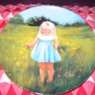 Meadow Magic by Donald Zolan Collector Plate Special Moments Collection 1989