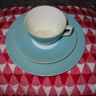 Vintage 3 Piece Cup and Saucer Bayreuth SPM Bavaria Nice Piece