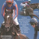Coolmore Horse Racing Catalog 2004 Very Nice Item Large