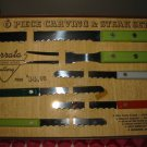 Vintage Serrata Cutlery Set Complete With Box VERY VERY NICE