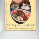 Cookbook Set Complete With Storage Box Favorite Recipes of Home Economics Teachers