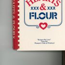 Hearts & Flour Cookbook by Women's Club of Pittsford New York