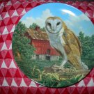 The Barn Owl by Jim Beaudoin Collector Plate 1990