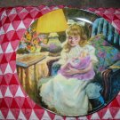 Hush Little Baby by John Mc Clelland Collector Plate 1990