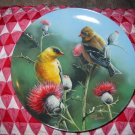 The Goldfinch by Kevin Daniel Collector Plate 1987