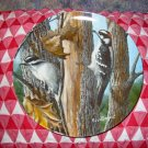 The Downy Woodpecker by Kevin Daniel Collector Plate 1987