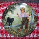 Baa Baa Black Sheep by John Mc Clelland Collector Plate 1988