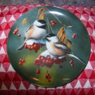 The Chickadee by Kevin Daniel Collector Plate 1986