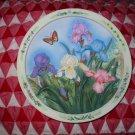 The Iris Garden by Lena Liu Collector Plate 1995