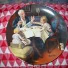 The Gourmet by Norman Rockwell Collector Plate