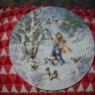 Frosty Chorus by Mimi Jobe Collector Plate