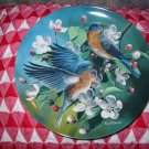 The Bluebird by Kevin Daniel Collector Plate 1986