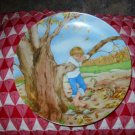 Wednesday's Child by Dora Leder Collector Plate 1980