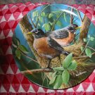 The Robin by Kevin Daniel Collector Plate 1986