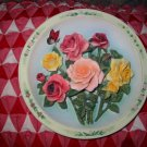 The Rose Garden by Lena Liu Collector Plate 1996 3D Awesome Piece