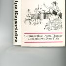 A Recipe Repertoire by Glimmerglass Opera Theater Cooperstown NY