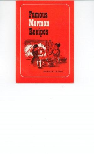 Vintage Famous Mormon Recipes Cookbook by Winnifred Jardine