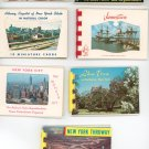 Vintage Souvenir Prints Booklets Lot Of 7