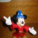 Scorecer Mickey Figurine Marked Disney