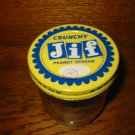 Vintage Jif Crunchy Peanut Spread Container With Lid Very Nice