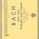 Vintage Bach Song Book Very Nice