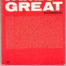 101 Great Songs Song Book Organ