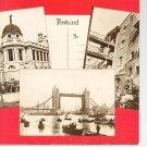 Vintage Old London Postcards Book