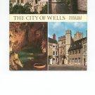 Vintage The City Of Wells Souvenir Guide