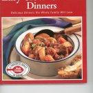 Betty Crockers Easy Slow Cooker Dinners Cookbook
