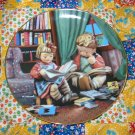 Budding Scholars Collector Plate M.I. Hummel Little Companions What A BEAUTY Shipping Special