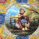 Feeding Time Collector Plate M.I. Hummel Gentle Friends What A BEAUTY Shipping Special