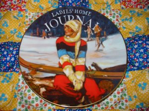 Ladies Home Journal Collector Plate Limited Edition Shipping Special