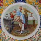The Cookie Tasting by Joseph Csatari Grandparent Plate 1982  Collector Plate  Shipping Special