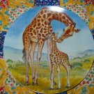 A Kiss For Mother by Yin - Rei Hicks  Collector Plate  Shipping Special