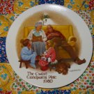 The Cookie Tasting by Joseph Csatari Grandparent Plate 1980  Collector Plate  Shipping Special