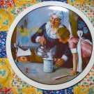 The Cooking Lesson Mothers Day 1982 Collector Plate  Shipping Special