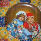Fireside Dreams January by Sandra Kuck  Collector Plate Limited Edition Shipping Special