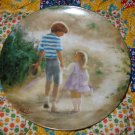 Country Walk Collector Plate by Donald Zolan Shipping Special