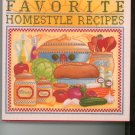 Weight Watchers Favorite Homestyle Recipes Cookbook