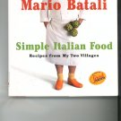 Simple Italian Food Cookbook by Mario Batali