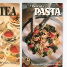 Just Your Cup Of Tea & A Passion For Pasta Cookbook by American Cooking Guild