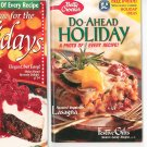 Assorted Lot Of 5 Recipe Books All Holiday / Christmas Themed Cookbook