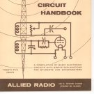 Allied's Radio Circuit Handbook Very Nice VINTAGE Item