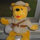 Pooh Safari Pooh Plush Toy From Walt Disney World