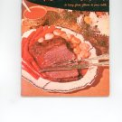 Meat Cook Book Cookbook Vintage Over 50 Years Old