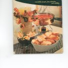 Appetizer Book Cookbook Vintage Over 50 Years Old