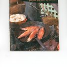 Fish and Shellfish Book Cookbook Vintage Over 50 Years Old