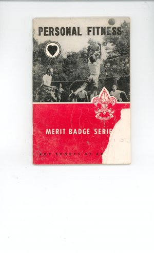 Vintage Boy Scout Personal Fitness Merit Badge Series Book USA SHIPPING SPECIAL